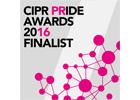 Catapult PR - 2016 CIPR PRide Awards Finalsist