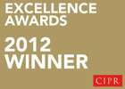 Catapult PR - 2012 CIPR Excellence Award Winner