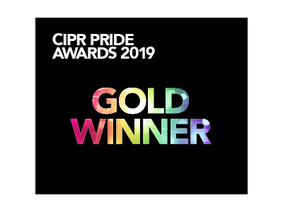 CIPR Pride Gold Award 2019